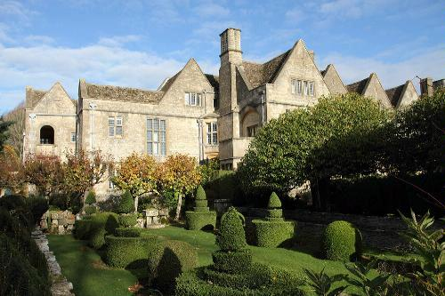 Rodmarton Manor & Gardens near Cirencester in Gloucestershire, England.