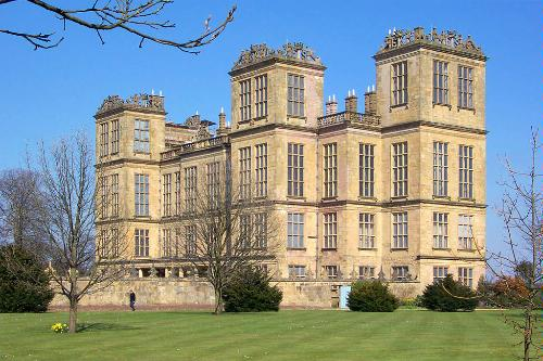 Hardwick Hall in Derbyshire, England.
