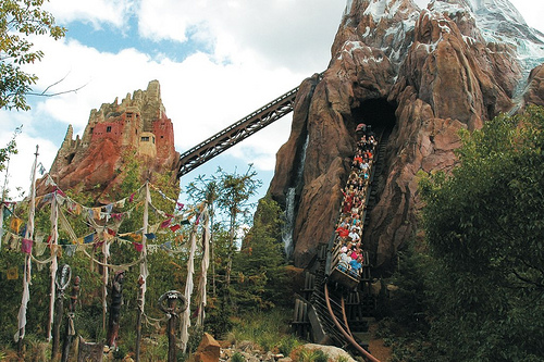 Expedition Everest at Walt Disney World's Animal Kingdom.