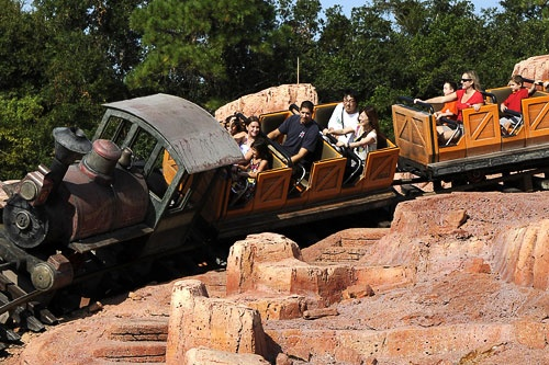Big Thunder Mountain Railroad at Walt Disney World.