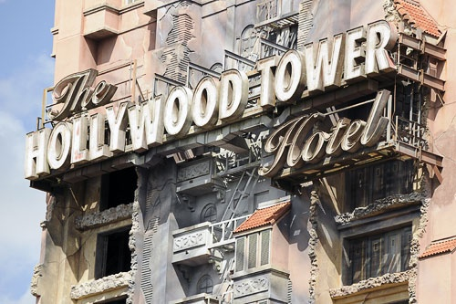 The Twilight Zone Tower of Terror at Disney Hollywood Studios