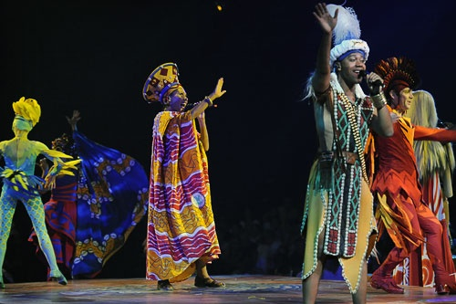 """Festival of the Lion King"" performance at Walt Disney World"