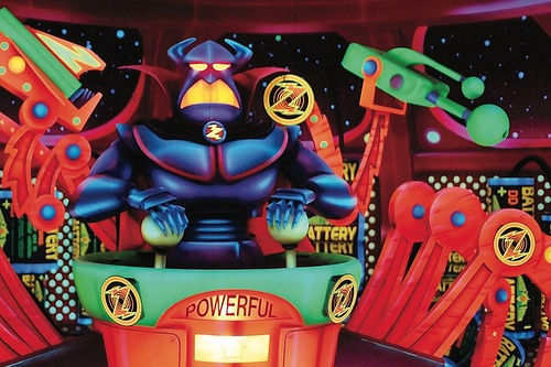 The Emperor Zurg in Buzz Lightyear's Space Ranger Spin