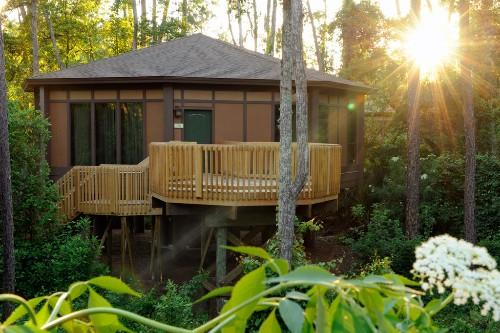 Nestled in natural forest glens near Downtown Disney, a new type of adventure welcomes guests with the Treehouse Villas at Disney's Saratoga Springs Resort & Spa at Walt Disney World Resort in Lake Buena Vista, Fl.