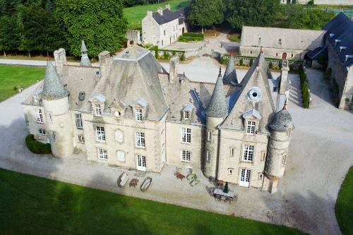 Chateau Yvetot, a 17th-century estate in Normandy.