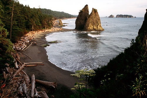Rialto Beach in Forks, WA. Courtesy Washington State Tourism