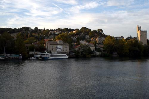 The Rhone River in France.
