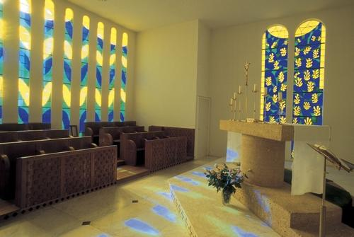 The Matisse Chapel on the outskirts of Vence.