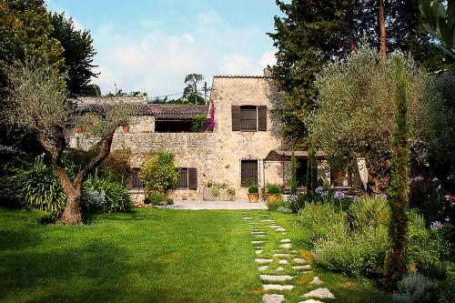 Moulin de Boursac, a converted olive mill in Vence.