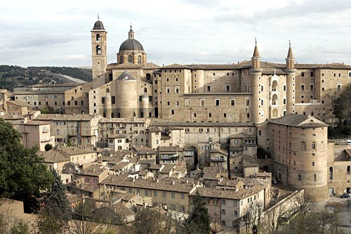 The stately city of Urbino, birthplace of Raphael and the setting for some of Piero della Francesca's best work.