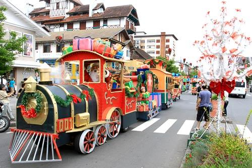 The Natal Luz, or Christmas of Light, celebration in Gramado, Brazil. Courtesy Cleiton Thiele