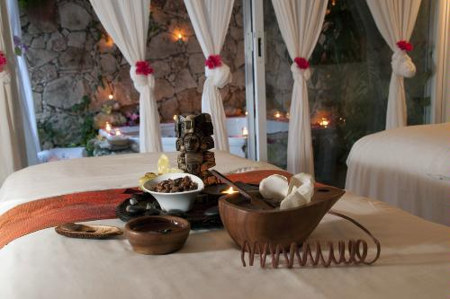 Herbs and ingredients at the spa at Ceiba del Mar, Puerto Morelos.