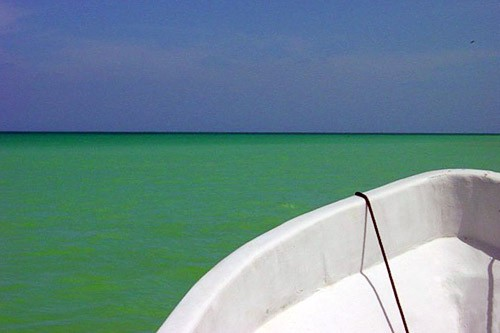 "Off the coast of Isla Holbox, Mexico. Photo by <a href=""http://www.frommers.com/community/user_gallery_detail.html?plckPhotoID=0ed93c9a-70ec-42e7-918f-10c4832d9931&plckGalleryID=c0482941-0d2d-4cca-b8c4-809ee9e20c72"" target=""_blank"">Champagne/Frommers.com Community</a>."