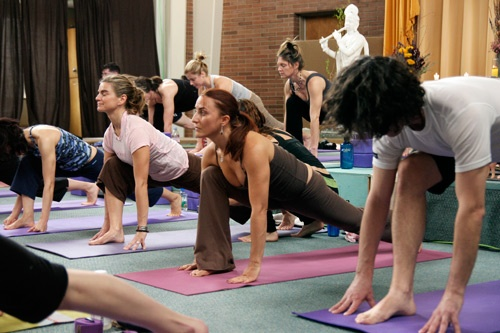Yoga classes at Kripalu Center for Yoga and Health. Photo courtesy of Kripalu Center for Yoga & Health