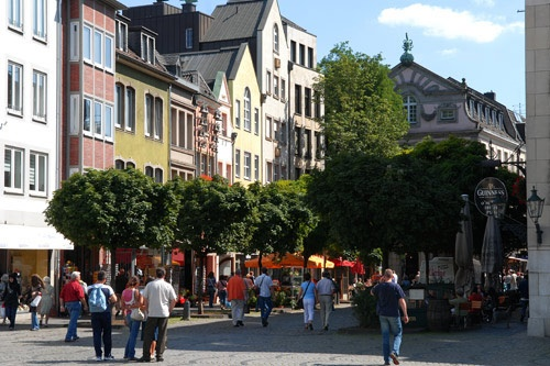 The Altstadt, Dusseldorf. Photo: Dusseldorf Marketing & Tourismus GmbH