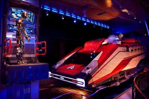 Star Tours at Disneyland, Anaheim.