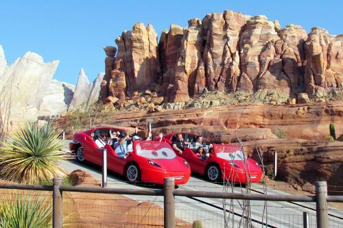 Inside Disney S New Cars Land