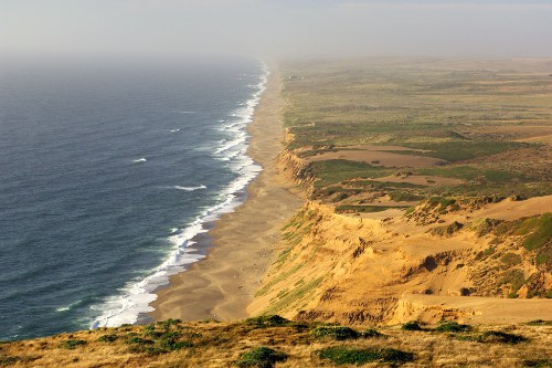 The beach at Point Reyes National Seashore.