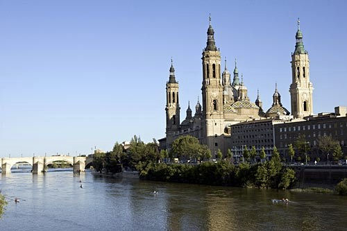 A succession of churches have stood on the miraculous site of the Basilica del Pilar.