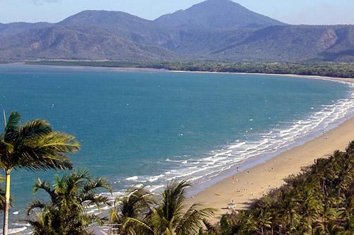 4-mile beach in Port Douglas, Australia.