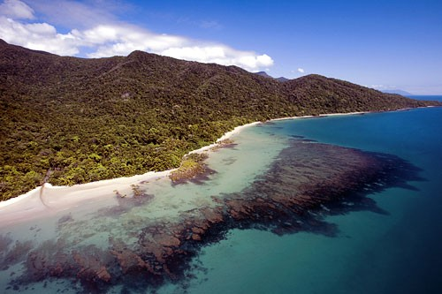 Cape Tribulation in Daintree National Park.
