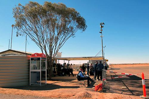 The Coober Pedy airport.