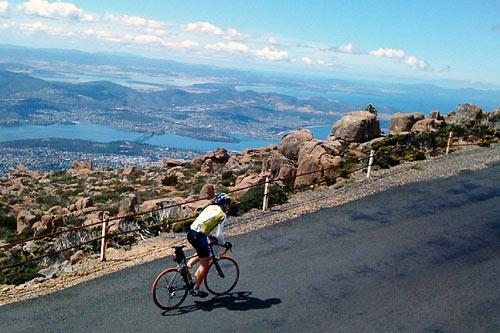 The Tasmania East Coast Classic Cycle Tour offers breathtaking coastal views and a ride