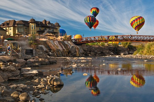 Pagosa Hot Springs Resort and Spa in Pagosa Springs, Colorado.