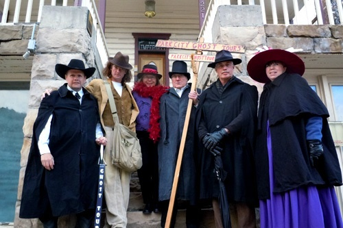 Meet some of Park City's most popular ghosts. Photo by Erik Hutchins/Park City Ghost Tours