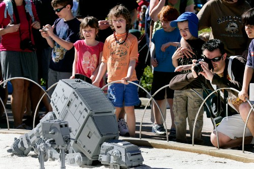 Star Wars Miniland at Legoland, Carlsbad, California