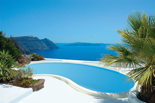 Astra Private Villa in Santorini, Greece