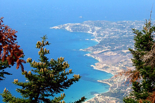 View from Mt Enos - Kefalonia