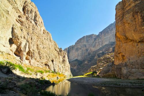 Boquillas Canyon in Big Bend National Park in Texas.