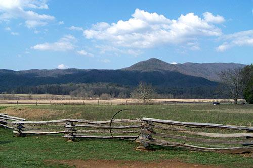Cades Cove, Great Smoky Mountains National Park.