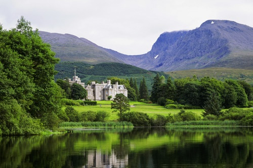 Inverlochy Castle Hotel in Fort William, Scotland. Photo courtesy Inverlochy Castle Hotel