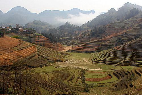 Muong Khuong district of Lao Cai province, in the northeastern region of Vietnam.