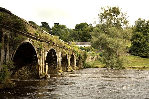 Arches over the River Nore in Inistioge.