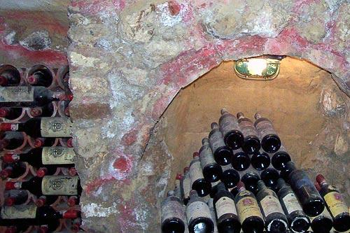 Touring a wine cellar in Chiusi, Italy. Courtesy Diane Panasci/Foreign Independent Tours