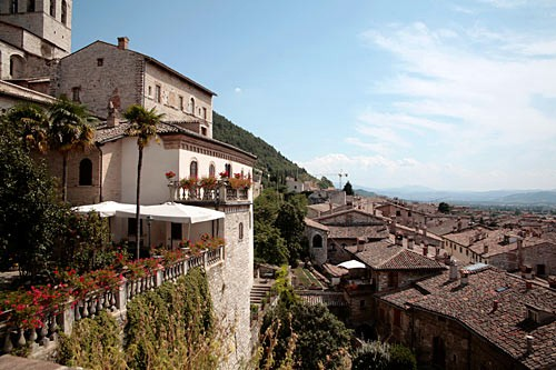 Gubbio's medieval character has been well preserved.