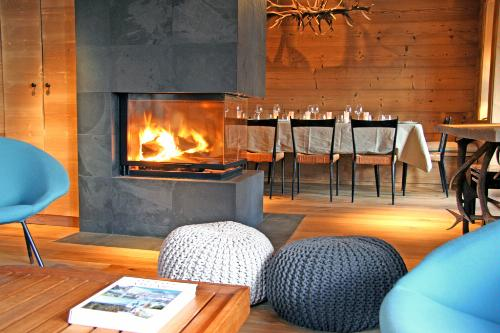 Holiday Home La Rosiere in Villars, Switzerland.