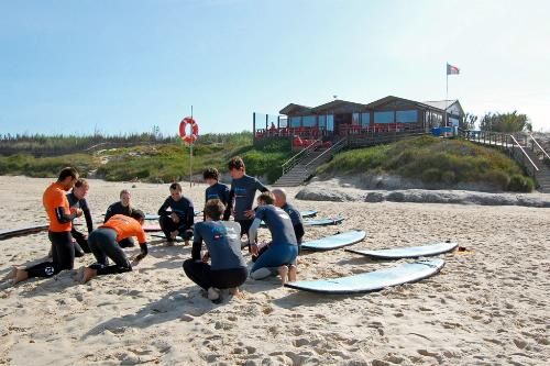Baleal Surf Camp, Peniche, Portugal.