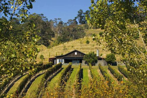 The Black Barn retreat is located right in the heart of the Vineyard at Black Barn Vineyards, Havelock North.