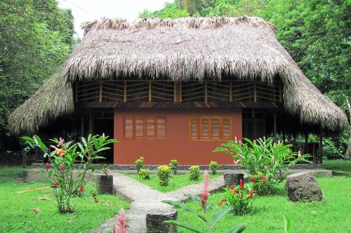 A hut in Tayrona National Natural Park, northern Colombia.