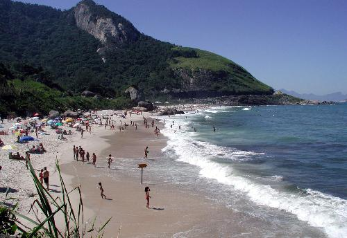 One of the many beaches of Rio