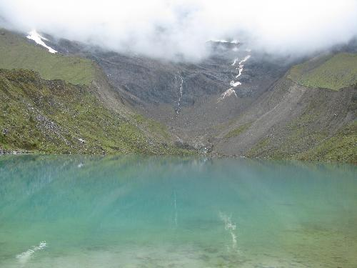 Glacial Lake outside Salkantay