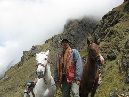 Porter at Salkantay Pass