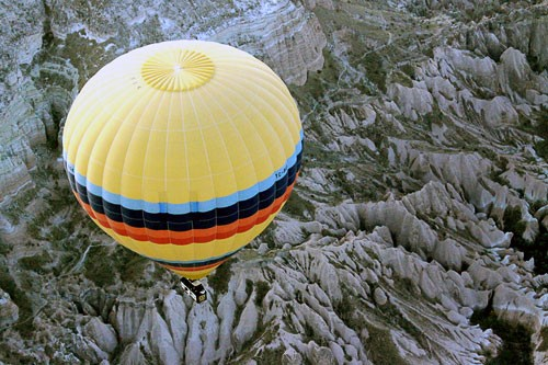 Ballooning over Goreme, Turkey.
