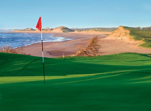 Crowbush Golf Course in Prince Edward Island.