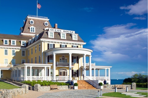 Exterior of Ocean House in Watch Hill, Rhode Island. Photo: Warren Jagger/Ocean House
