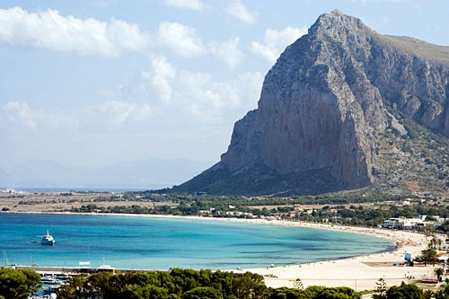San Vito Lo Capo S Crescent Beach Is Part Of The Tranquil Authentic Sicilian Experience To
